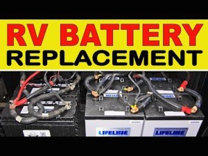 How To Replace Your RV House Batteries With The AGM Type