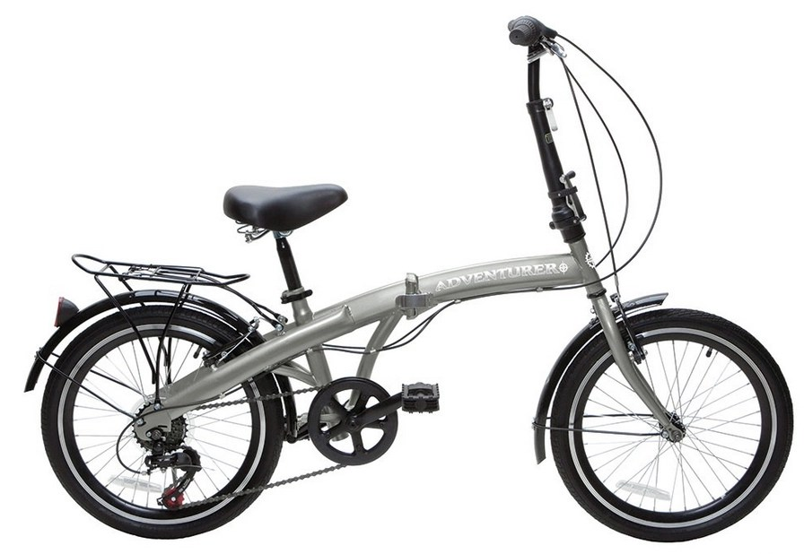 Adventurer Six-Speed Folding Bike Owners Manual
