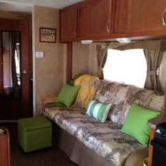 Living Room Decorating Ideas Colors Schemes Interior Design Blue And Brown How To Use Bright Accent Improve An Rv's