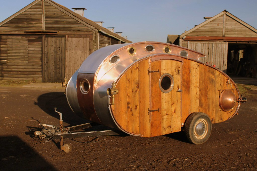 Teardrop Trailer Interior Design