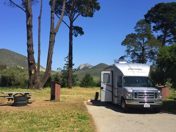 Best RV Parks And Campgrounds On The Central California Coast