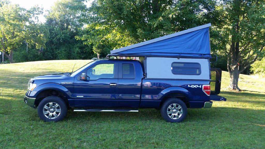 truck camper diy how