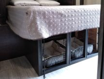 Add Diy Dog Kennel Under Rv Bed