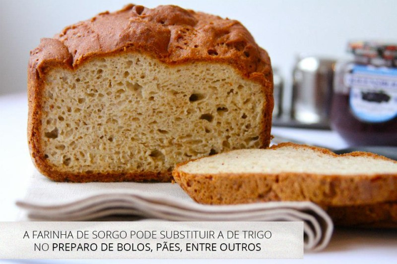 pão de sorgo