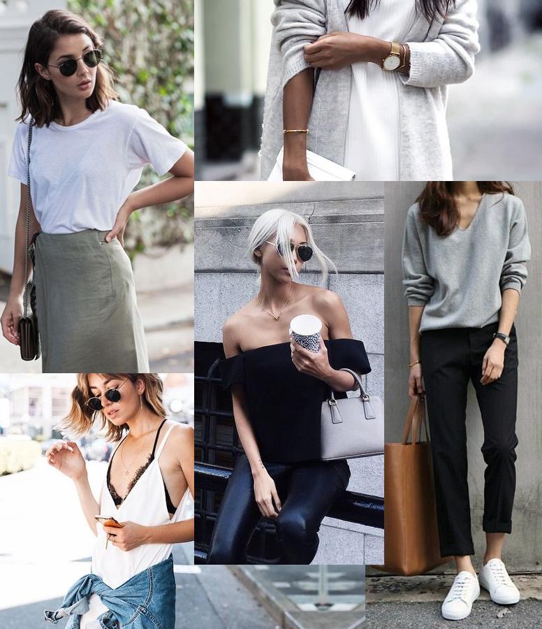 moda minimalista