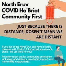 North Eruv COVID Ha'Briot Community First