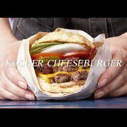 Watch: Israel's Kosher Cheeseburger