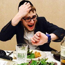Proper Time to Eat the Purim Seudah