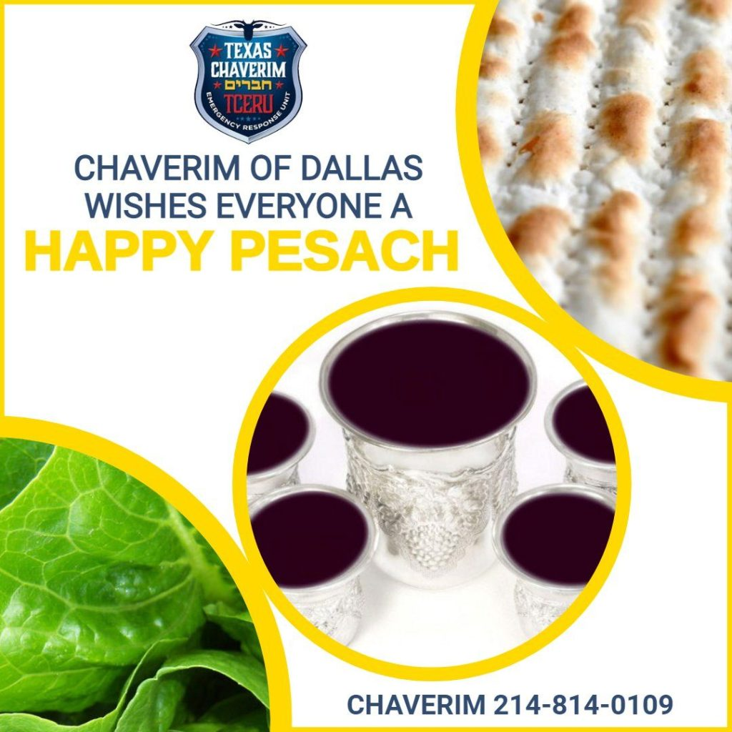 Chaverim of Dallas Wishes Everyone a Happy Pesach 1