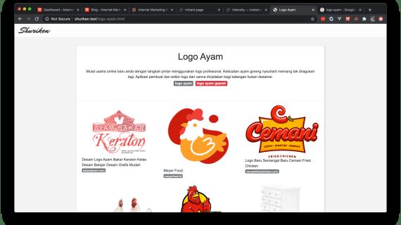 Bikin Situs Png Downloader pake Shuriken