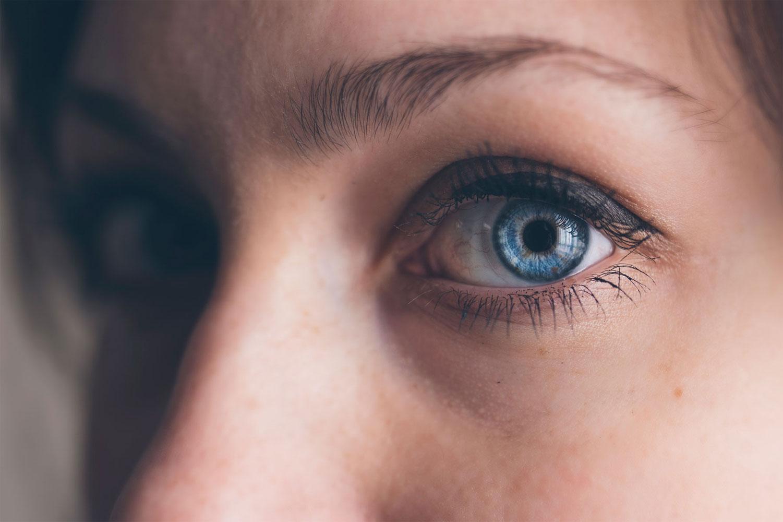 een oogontsteking kan blijvende schade