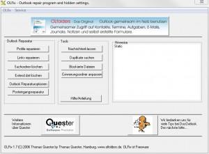 Screenshot OLFixScreenshot OLFix