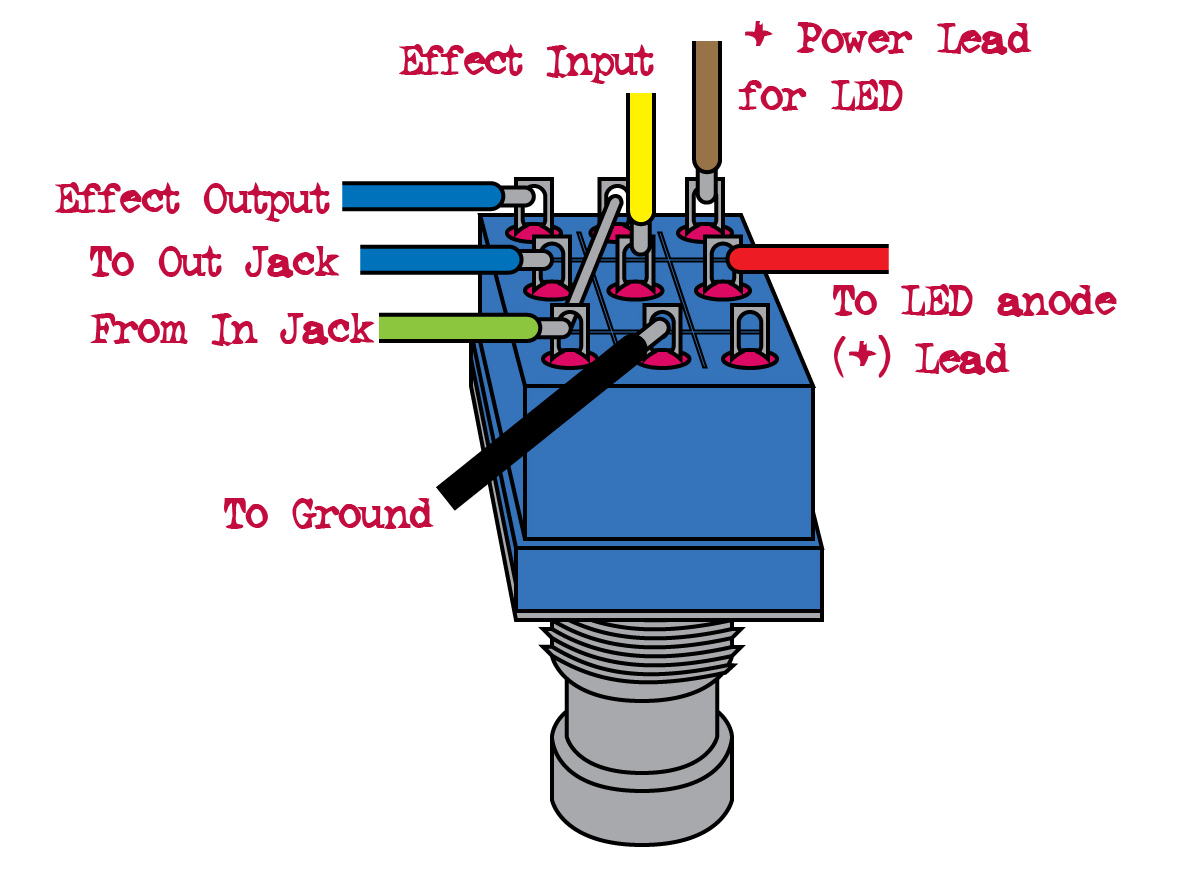 Used This Diagram To Wire It Up I Took The Switched Power Off The