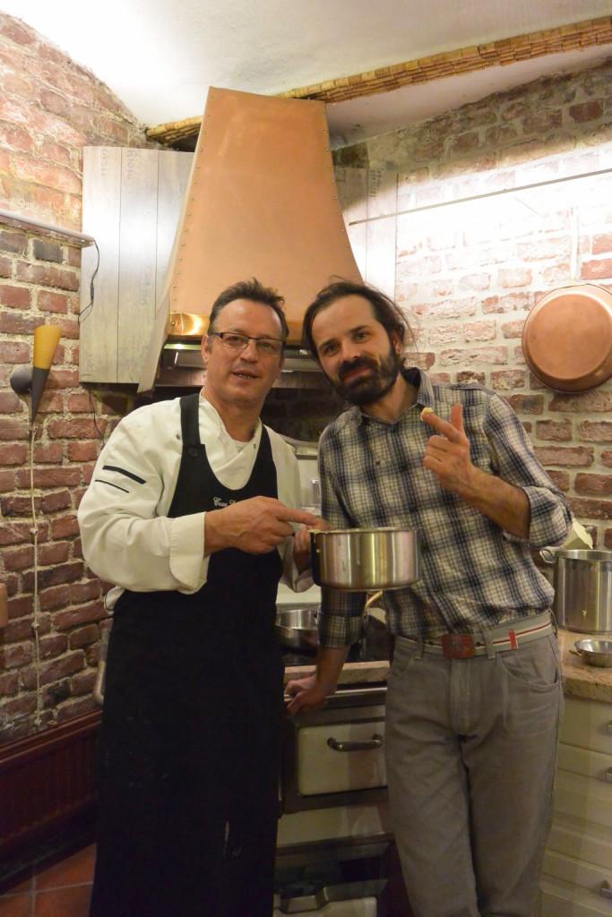 Nicola Lodato und Dr. Mario Moscariello bedanken sich für den gelungenen Abend