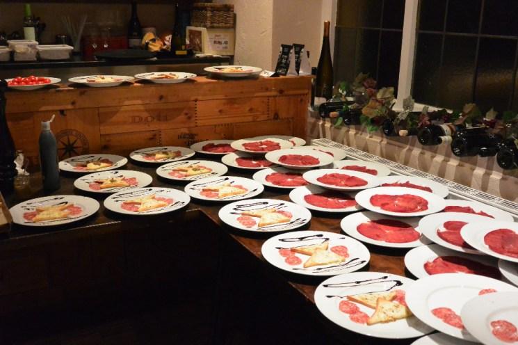 Genau 30 Speisen mussten im gleichen Moment zubereitet werden.