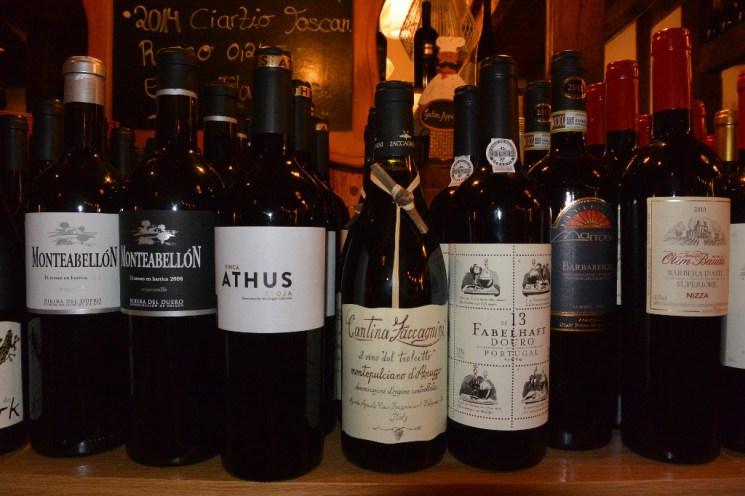 Zum Trüffelseminar konnten die Gäste Wein à la carte bestellen