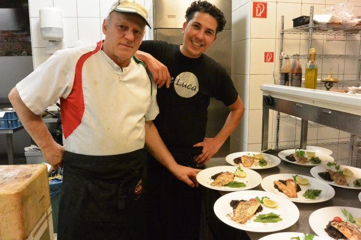 Die Köche des Abends: Musti und Antonio