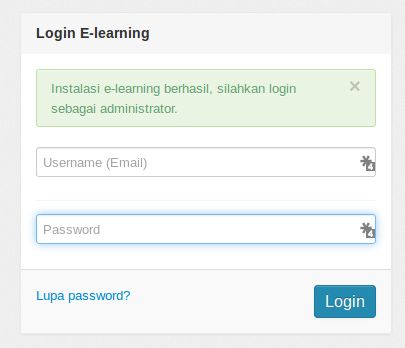 install elearning finish