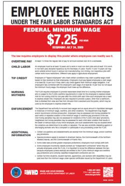 fair labor standards act flsa minimum