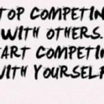 Competition kisse aur kyon karna chahiye Hindi Article on competition