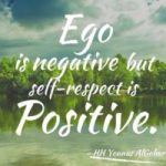 What is the difference between ego and self respect in Hindi