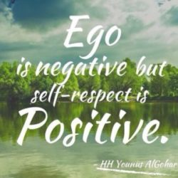 difference between ego and self respect in Hindi