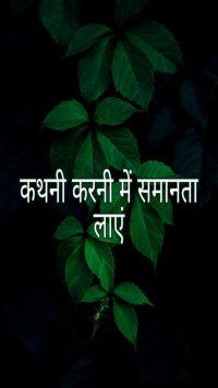 कथनी – करनी में समानता लायें ।Motivational Hindi Story on Anger