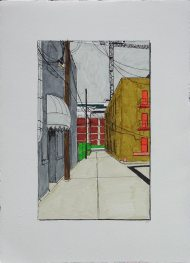 Alley with Awning