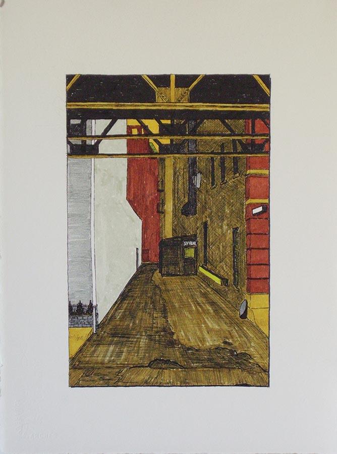 Alley with Spybar
