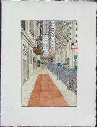 Alley with Chicago Theatre