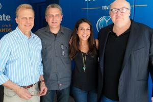 Bob Sirott, William Dolan, Marianne Murciano, Tony Fitzpatrick