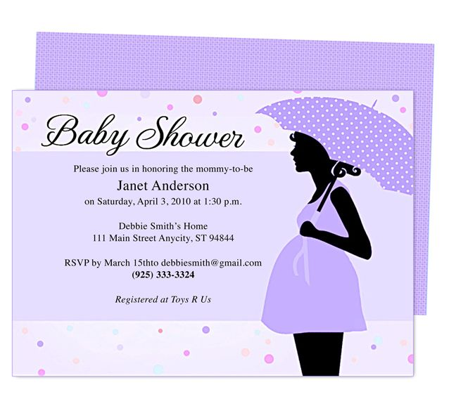 Baby Shower Invitations Templates Mama