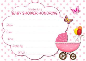 Free Printable Baby Shower Invitations For Dolanpedia