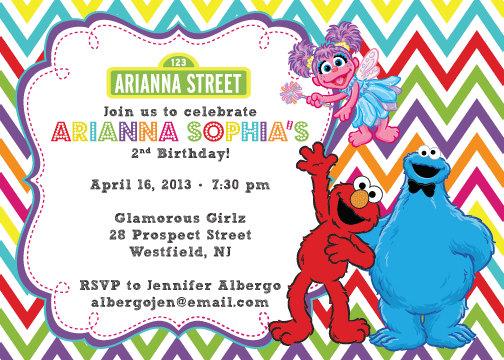 elmo party invitations template