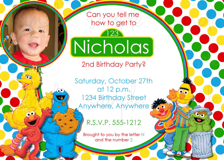 birthday cards invitation sample