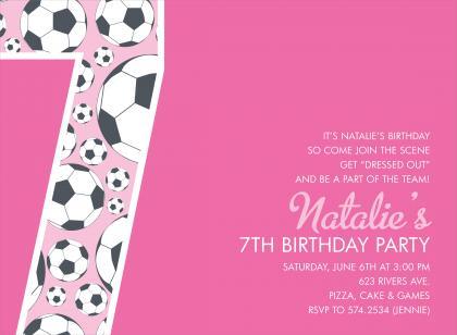 7th Birthday Party Invitation Wording DolanPedia