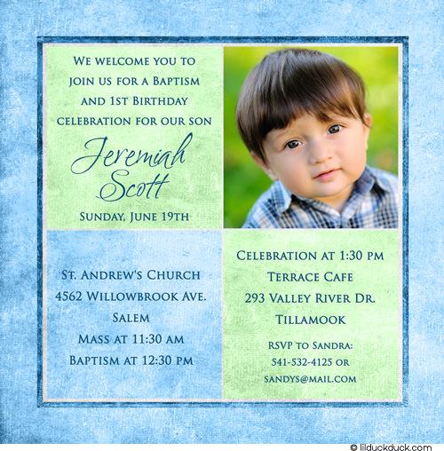 Baptism Invitations Do It Yourself