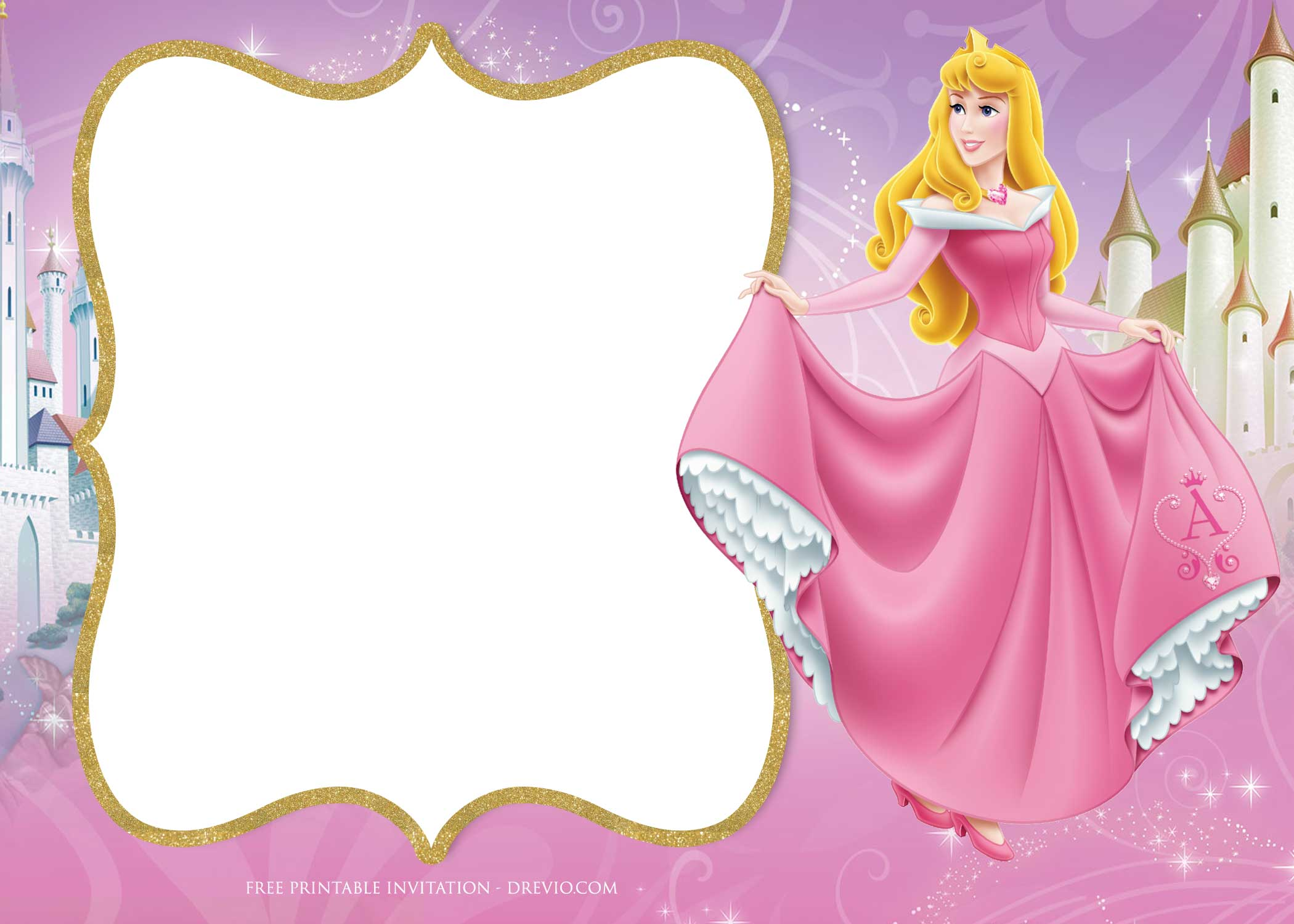 free princess aurora birthday