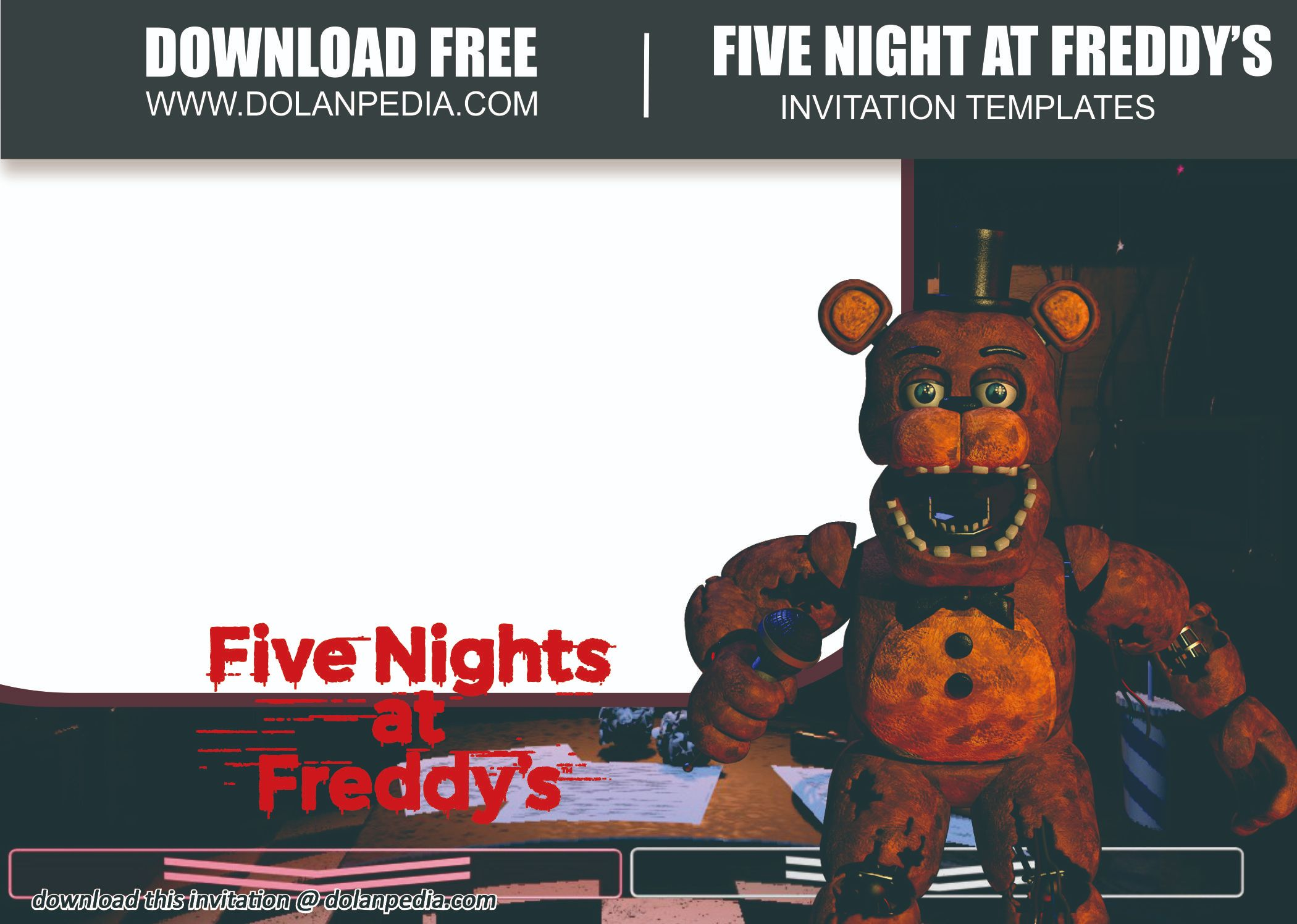 free printable five nights at freddy s