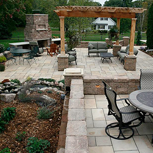 brownsdale mn flagstone patio