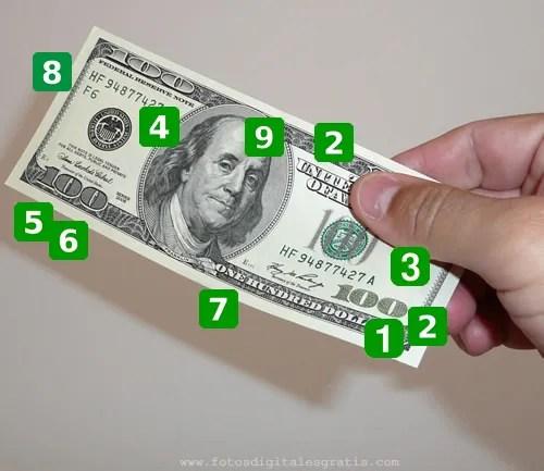 Dólar falso billete - Cómo detectarlos