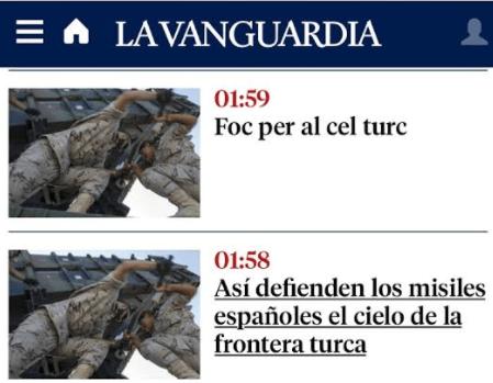 ¿Por qué La Vanguardia titula diferente en castellano y catalán?