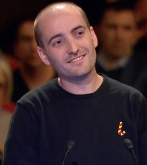 """Dolço Súbito"" para el catalán que formuló la pregunta de la muerte a Puigdemont"