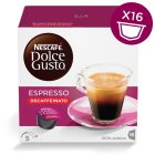 Espresso Decaffeinato 16 Capsules NESCAFÉ® Dolce Gusto®