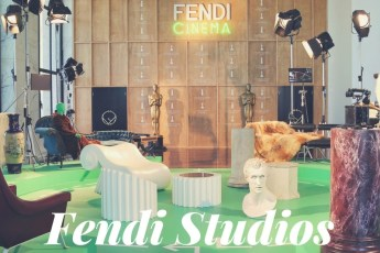 Fendi Studios Showcases Love of Cinema