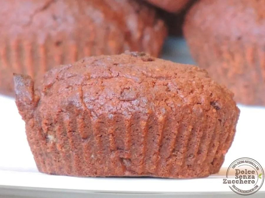 Muffin al Cioccolato Senza Farina (3)