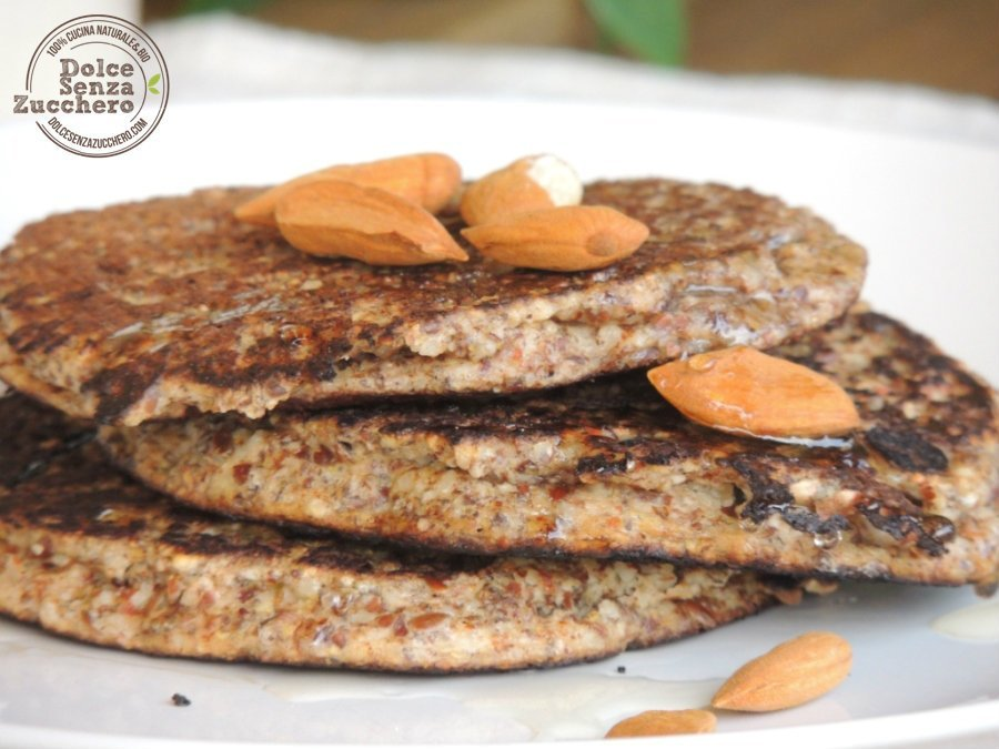 Pancakes di Farina di Mandorle (Senza Glutine) (3)