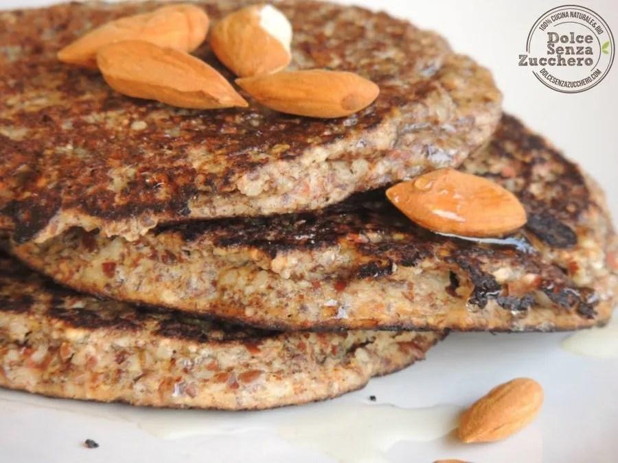 Pancakes di Farina di Mandorle (Senza Glutine) (5)