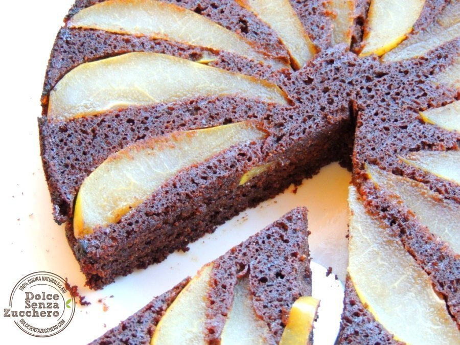 Torta carrube e pere (7)