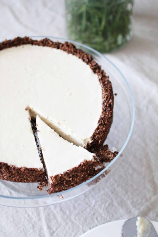 Torta fredda al burro di arachidi_Dolce Senza Zucchero (6)